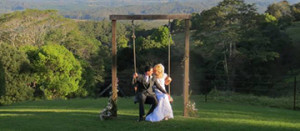 wedding picture of Lisa Cox from Brisbane Australia